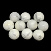 howlite beads, semi-precious stones, milky white, gray veins, semi-precious howlite beads, beading supplies, 12mm, howlite, opaque, milky white beads, B'sue Boutiques, jewelry beads, howlite stone beads, jewelry supplies, 01124