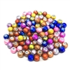 spectra beads, glass beads, jewelry supplies, 01935, multi-color beads, assortment, mixed beads, rainbow, assorted colors, glass, spectra, 8mm, B'sue Boutiques