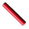 Cherry Red Dense Plastic Long Tube Beads