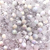 Snow White, Bead Mix, Designer, designer jewelry, designer beads, acrylic fashion beads, cool acrylic beads, white, frost, crystal, beader, beading, B'sue Boutiques, white frosted beads, crystal melon beads, chalk/ab, vintage beads, vintage style, 02465
