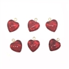 red hearts, heart charms, 03171, acrylic hearts, gold tone loop, plastic heart charms, heart, red, Bsue Boutiques, jewelry supplies, charms, heart charm, hearts