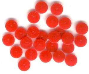spacer beads, Hong Kong Plastic beads, cherry