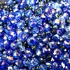 Czech and Asian glass beads, 04878, midnight sapphire, mixed blue beads, assorted beads, beading supplies, jewelry making supplies, vintage jewelry supplies, rondelle beads, round beads, oval beads