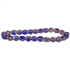 mulberry & sapphire faceted round beads, round beads, faceted beads, 6mm beads, beads, B'sue Boutiques, Czech glass, jewelry making, beading supplies, transparent beads, glass beads, sapphire beads, mulberry beads, faceted round beads, 05053
