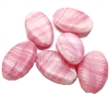 twisted pink glass leaf beads, glass leaves, glass beads, beads, Germany made, leaf beads, pink beads, twisted leaves, pink, two tones beads, 10x7mm, beading supplies, jewelry making, jewelry supplies, B'sue Boutiques, jewelry findings, 06089