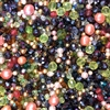 Czech fire polish mix, glass beads, pearls, beads, Czech beads, spring shades, green beads, emerald green, peach, assorted beads, beading supplies, jewelry making, vintage supplies, rondelle beads, round beads, oval beads, topaz beads, 4-14mm, 06272