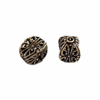 brass beads, filigree beads, jewelry making, 06390, brass bead, filigree beads, antique brass,  brass ox beads, cube beads, designer findings, designer beads, steampunk art jewelry, beading supplies, vintage jewellery supplies