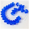 glass beads, Czech glass beads, bell flowers