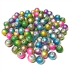 two-tone spectra beads, glass beads, jewelry supplies, colorful beads, two-tone beads, multi-color beads, assortment, mixed beads, rainbow, assorted colors, glass, spectra, 8mm, B'sue Boutiques, jewelry making, jewelry beads, beads, beading supplies, 0731