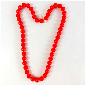 glass beads, Japanese glass beads, red, 07447, vintage beads, beading supplies, red glass beads, jewelry making, jewelry supplies,