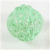 acrylic beads, floral beads, mint crystal, 12mm, mint, mint green, crystal, transparent bead, beads, bead, floral, acrylic, jewelry making, us made, b'sue boutiques, jewelry findings, vintage supplies, jewelry supplies, drilled, plastic, 07820