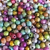 sparkledust beads, acrylic, 08089, multi color, rainbow colors, assorted beads, 6mm, beads, colorful, multi-color beads, assorted colors, plastic beads, acrylic beads, bead mix