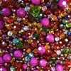 Fantasia bead mix, berry pie, 08356, machine cut glass beads, ab beads, imported glass, bead mix, assorted beads, bead assortment, mixed colors of beads, B'sue Boutiques