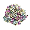 sparkledust beads, acrylic, 08878, multi color, rainbow colors, assorted beads, 4mm, beads, colorful, multi-color beads, assorted colors, plastic beads, acrylic beads, bead mix