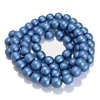 persian blue pearl beads, matte beads, 8mm bead, glass pearl, Czech, B'sue Boutiques, bead, jewelry making, beading supplies, vintage supplies, pearl, pearl beads, glass beads, jewelry supplies, jewelry beads, blue beads, 09520