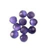 tanzanite purple cat's eye beads, glass beads, fiber optic glass, glass, cat's eye, purple beads, cabochon, round, glossy shine, faceted beads, US made, B'sue Boutiques, jewelry stone, 8mm, 09719