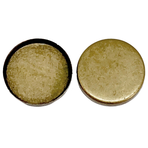 brass bezels, cameo mounts, brass ox, 01112, B'sue Boutiques, nickel free jewelry supplies, U S made jewelry supplies, vintage jewellery supplies, antique brass, jewelry findings, jewelry bezels