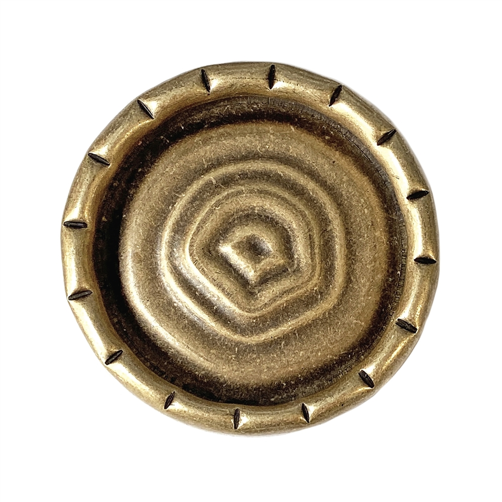 pie crust border, brass ox, mount, bezel, pie crust, antique brass, brass, 30mm mount, 38mm, 5mm deep, blank, mount jewelry, us made, nickel free, B'sue Boutiques, jewelry making, jewelry supplies, vintage supplies, jewelry findings, 06470
