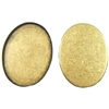 Brass Bezel, Standard Wall (3mm), Brass Ox, 40 x 30mm Mount, Brass Ox