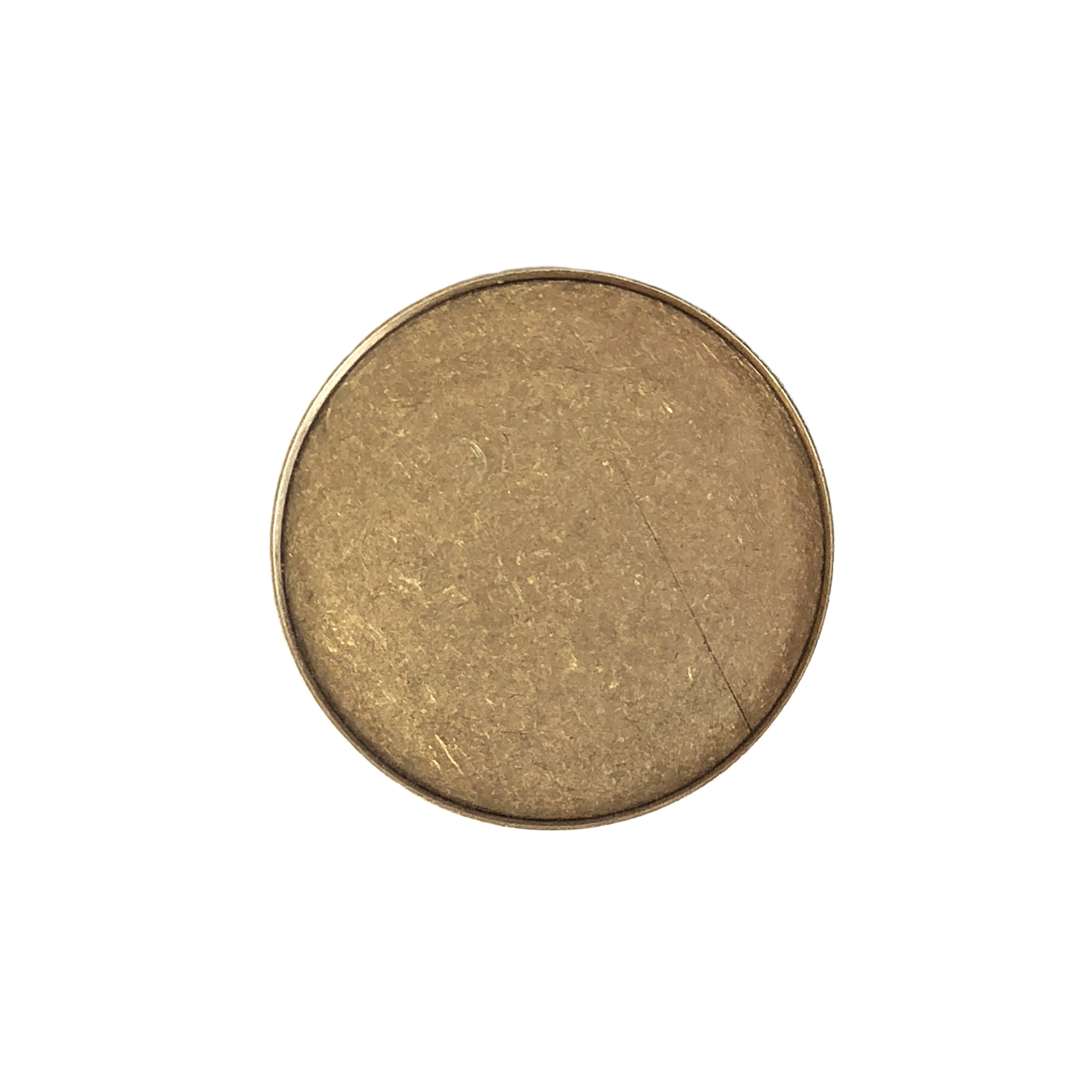 round bezel, brass ox, antique brass, shallow wall, US made, nickel free, jewelry making, 25mm, shallow wall (1mm), smooth back, jewelry supplies, vintage supplies, jewelry findings, B'sue Boutiques, brass bezel, bezel, brass stamping, 09405