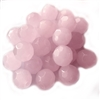glass beads, rose quartz, 10mm, vintage glass beads, pink glass beads, beading supplies, B'sue Boutiques,  jewelry making, jewelry beads, vintage supplies,03959