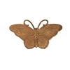 vintage brass butterfly, patina brass, 09812, butterflies, butterfly stamping, unplated brass, bug, insects, b'sue boutiques, jewelry supplies, vintage stamping