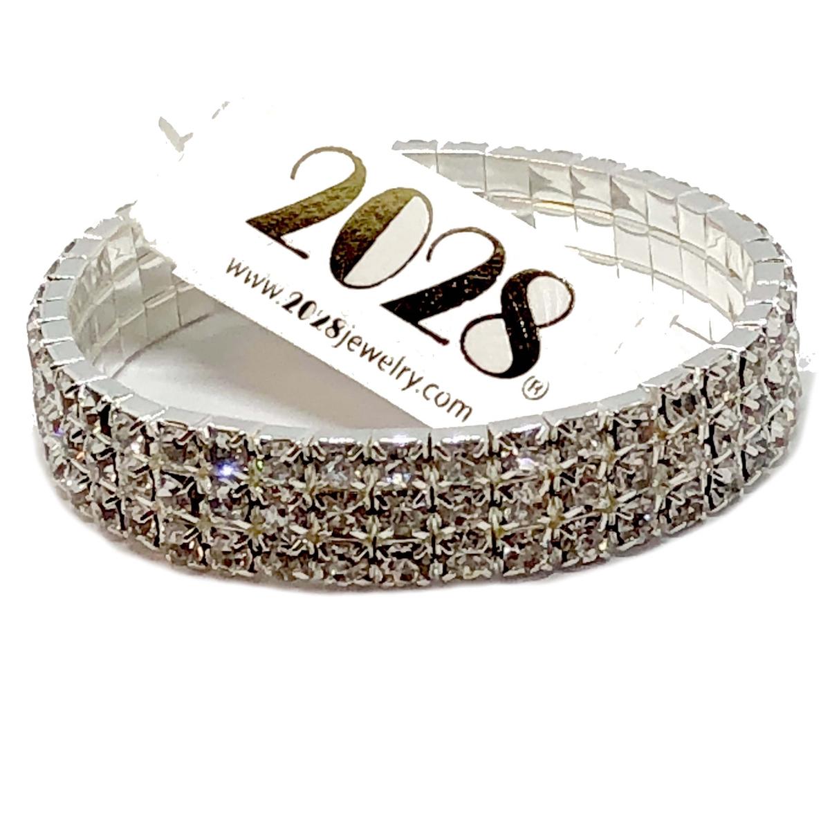 Crystal Rhinestone Stretch Bracelets 2028 Bracelet Fashion