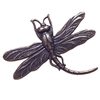 brass dragonflies, dragonfly, rusted iron, 03156, bugs, animals, insects, brass stamping, copper accents, jewelry supplies, B'sue Boutiques, jewelry making