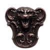 Brass Tiger, Roaring Tiger, Rusted Iron, Victorian, Brass Stamping, 47 x 47mm, Tiger, Tiger Stamping, Us Made, Nickel Free, Jewelry Findings, B'sue Boutiques, Antiquing Copper, Dapt Tiger Face, 0613