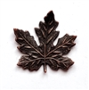 maple leaf, brass leaves, maple, rusted iron brass, brass maple leaves, brass stamping, iron, brass, iron brass, 21x21mm, us made, nickel free, b'sue boutiques, jewelry making, jewelry findings, vintage supplies, jewelry supplies, 07