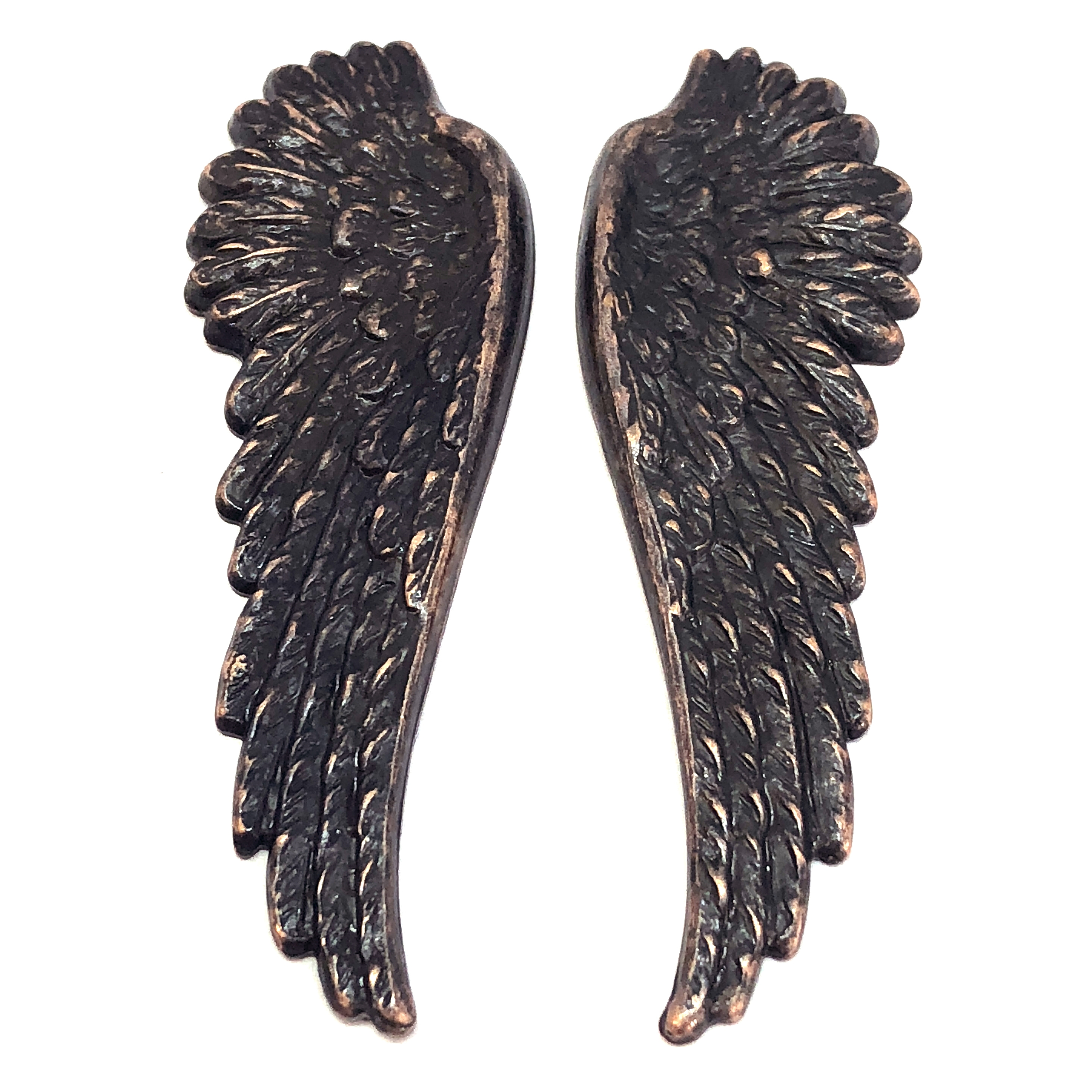 brass wings, bird wings, rusted iron, 08571, copper accents, copper, wings, vintage jewelry supplies, brass jewelry parts, jewelry making supplies, US made, nickel free, Bsue Boutiques