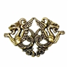 Dragon Stamping, Medieval Dragons, Brass Ox, Brass Stamping, Dragon, Pendent, Charm, Design Elements, Embellishment, 39 x 59mm, US Made, Nickel Free, Jewelry Findings, B'sue Boutiques, 0159