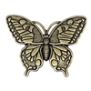 brass butterflies, butterfly jewelry, 03109, B'sue Boutiques, nickel free jewelry, US made jewelry, vintage jewelry supplies, jewelry making supplies, brass ox, butterflies, antique brass, butterfly