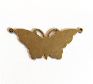 brass butterflies, jewelry making, butterfly pendant, butterfly base, brass ox, antique brass, vintage jewelry supplies, US Made, nickel free jewelry supplies, Bsue Boutiques, 04486