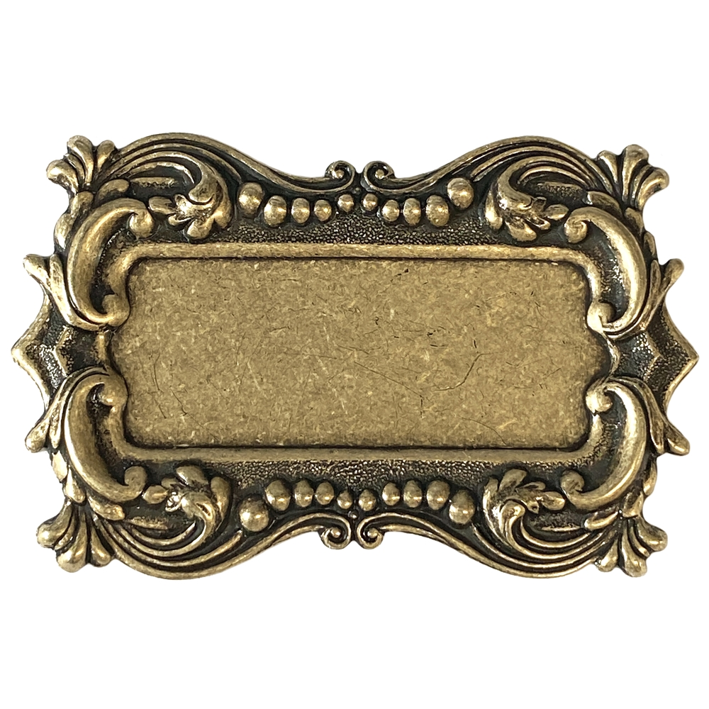picture frame, frame, brass ox, leafy motif, brass stamping, motif, us made, Victorian, B'sue Boutiques, brass mount, antique brass, brass bezel, Victorian style, nickel free, jewelry making, vintage supplies, jewelry supplies, jewelry findings, 04707