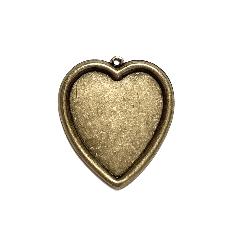 inlay heart pendant, antique brass, brass ox, heart, antique brass heart, heart pendant, inlay heart, inlay pendant, jewelry heart, charm, pendant, heart jewelry, 35x34mm, jewelry making, vintage supplies, jewelry supplies, jewelry findings, 05093