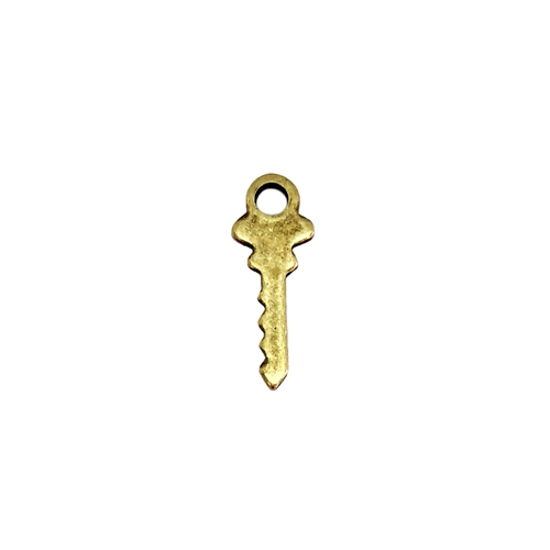 Brass Keys, Key Stampings, Brass Ox, 05973, key charms, antique brass, jewelry findings, US Made, nickel free, Bsue Boutiques, jewelry making supplies, vintage jewelry supplies, locket keys,