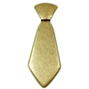 Brass Necktie Stamping, Brass Ox, Hinged, 3.50 Inches