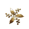 brass flowers, brass leaves, drilled leaves, 07219, vintage jewellery supplies, jewelry making supplies, B'sue Boutiques, US made jewelry supplies, nickel free jewelry supplies, drilled leaves, leaf jewelry supplies, brass ox, antique brass