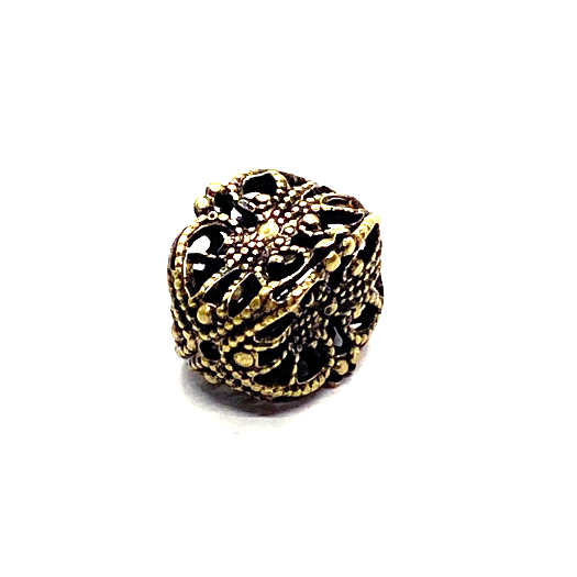 brass beads, filigree beads, jewelry making, 08307, brass bead, filigree beads, antique brass,  brass ox beads, cube beads, designer findings, designer beads, steampunk art jewelry, beading supplies, vintage jewellery supplies,