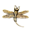 brass dragonflies, dragonfly jewelry,antique brass