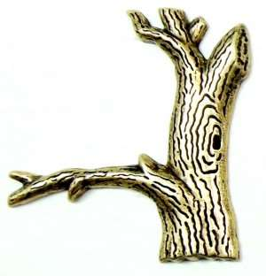 brass trees, tree trunks, jewelry supplies, 57mm