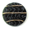 Button Cabochon, Czech Glass, 18mm