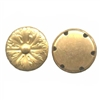 button base, brass buttons, raw, jewelry making