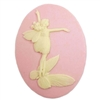 cameo, fairy cameo, cornelian and pink, 40 x 30mm,03453 B'sue Boutiques, cameo, fairy jewelry making supplies, vintage jewelry supplies, fairy jewelry, jewelry findings,