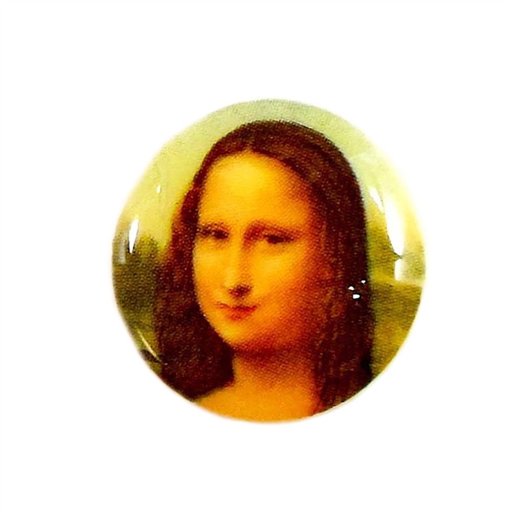 cameo, Mona Lisa, jewelry making, 18mm,04733, B'sue Boutiques, jewelry making supplies, vintage jewelry supplies, cameo findings, jewelry findings, vintage jewelry