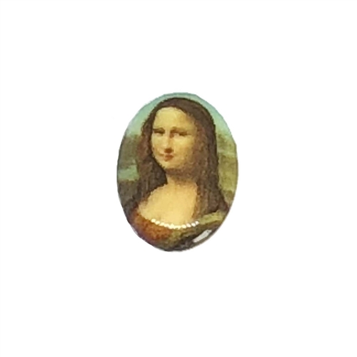 cameo, Mona Lisa, jewelry making, 25x18mm,04737, B'sue Boutiques, jewelry making supplies, vintage jewelry supplies, cameo findings, jewelry findings, vintage jewelry