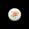rose decal cameo, pink, cameo, rose, porcelain, 18mm, made in Germany, decal, rose cameo, flower cameo, flat back, B'sue Boutiques, jewelry findings, vintage supplies, jewelry making, jewelry supplies, cameo jewelry, 05375, pink cameo,