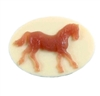 cameo, resin jewelry, jewelry making, 25 x 18mm, 06013, B'sue Boutiques, US Made, jewelry supplies, imported resin cameos, carnelian over cream, vintage jewelry supplies, pony cameos, horse cameos, horse racing cameos,