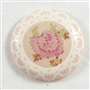 cameo, vintage cameo, rose, pink, ivory
